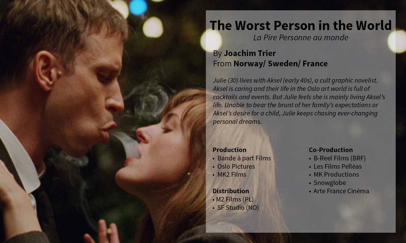 The Worst Person in the World Joachim Trier