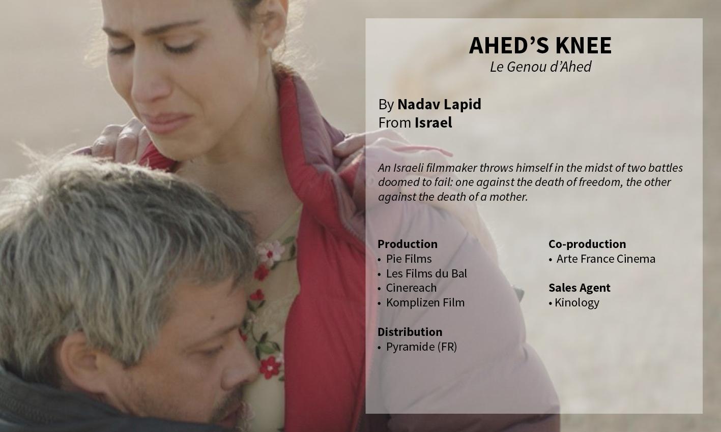 Ahed's Knee Nadav Lapid
