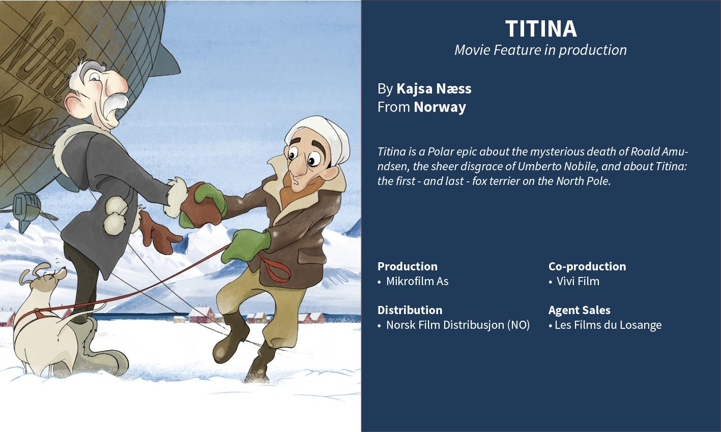 Titina, Kajsa Naess