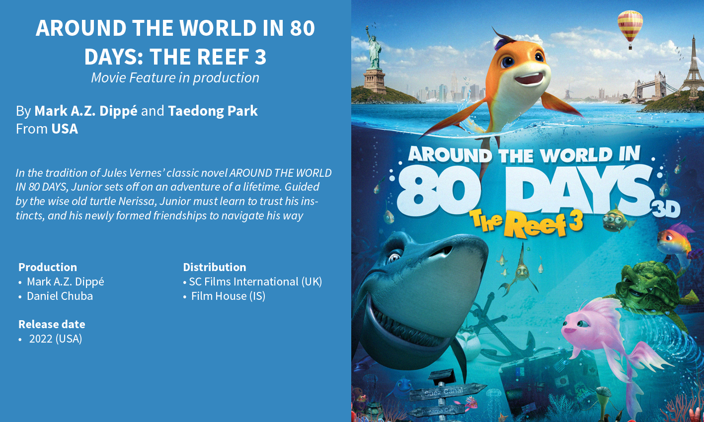 Around the World in 80 days: The Reef 3