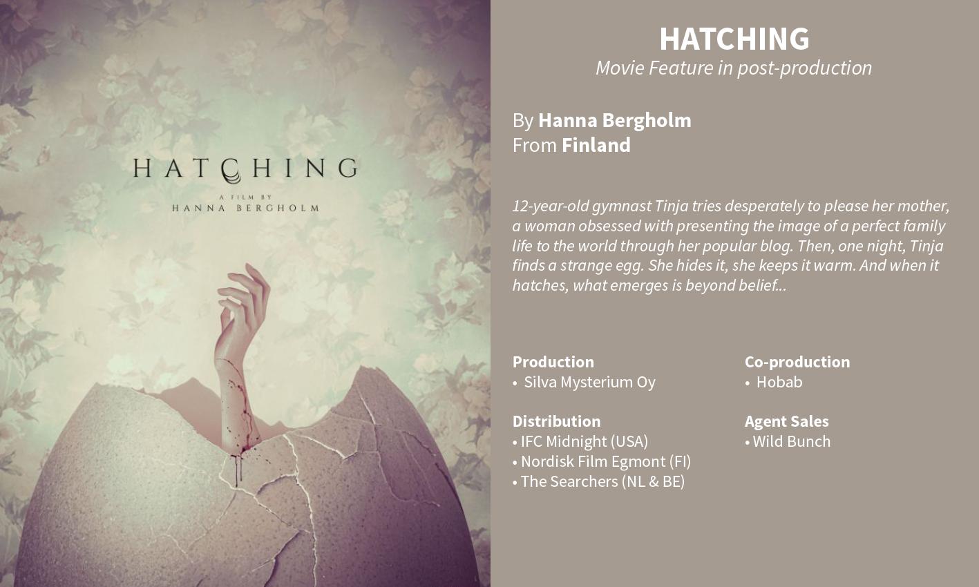 Hatching - Hanna Bergholm
