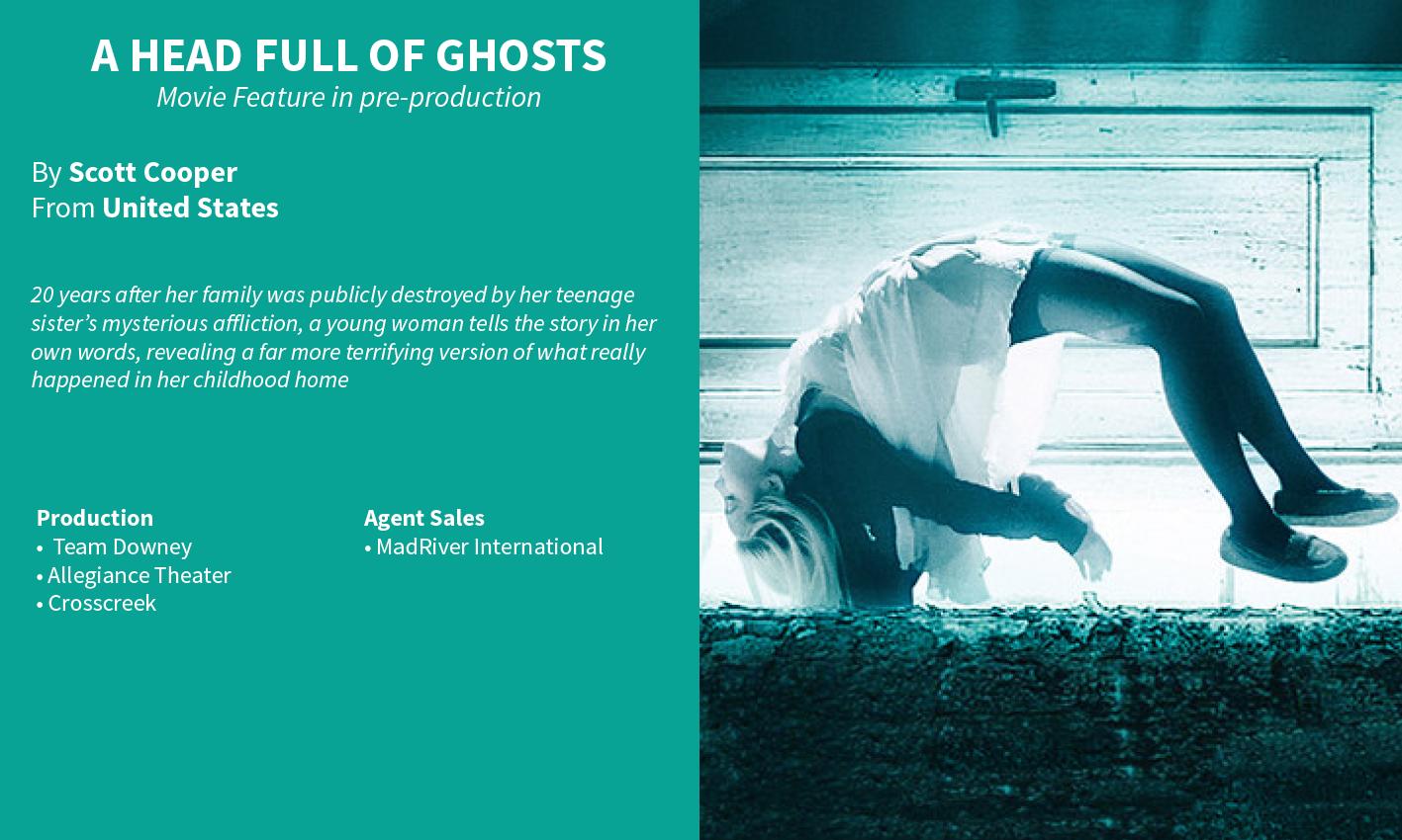 A Head Full of Ghosts Scott Cooper