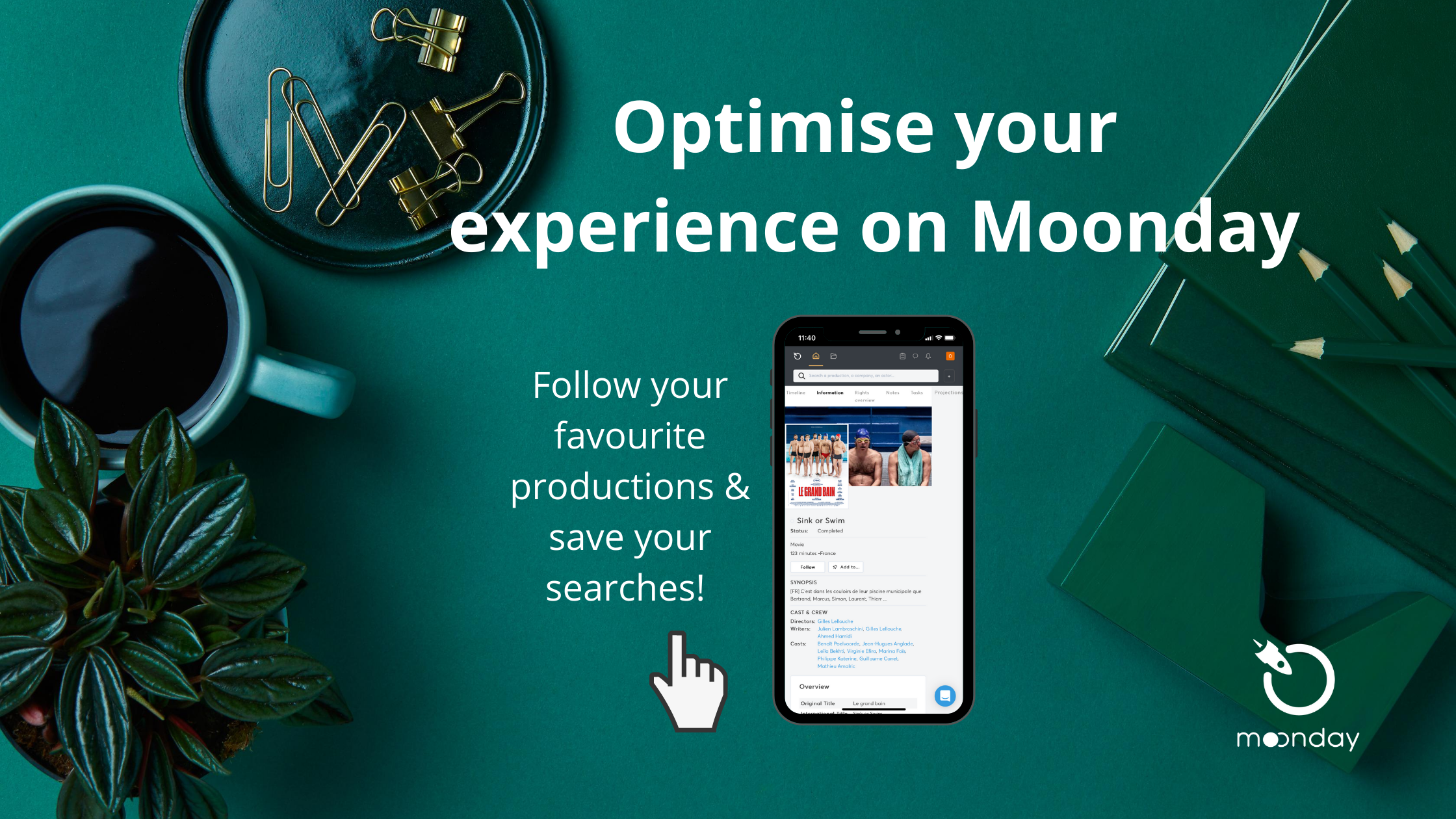 Optimise your experience on Moonday LARGE